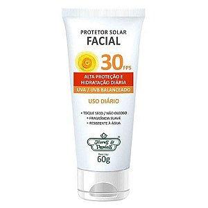 Protetor Solar Vegano Para o Rosto FPS 30 Flores & Vegetais 60g