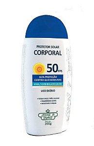 Protetor Solar Corporal Vegano FPS 50 Flores & Vegetais 200g