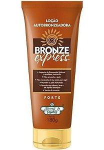 Loção Autobronzeadora Bronze Express Flores & Vegetais 180g