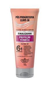 Leave-in Finalizador Pós Progressiva Flores & Vegetais 180g