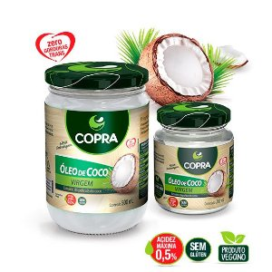 Óleo de Coco Natural Virgem Copra