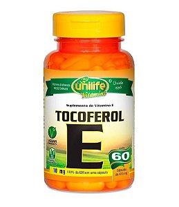 Vitamina E Tocoferol Unilife - 60 Cápsulas