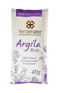 Argila Roxa Orgânica Terramater - Rejuvenescimento 40g