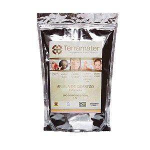 Cristais de Quartzo Orgânicos Terramater - Esfoliante Natural 1kg