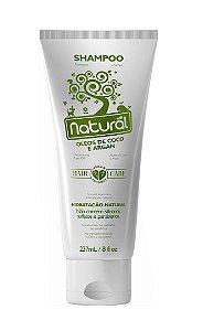 Shampoo Natural Orgânico Contente - Óleo de Coco e Argan 237ml