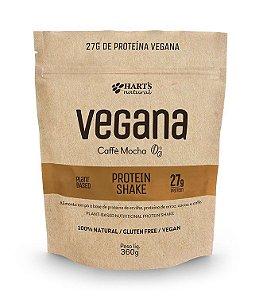 Proteína Vegana Hart's Natural - Protein Shake Caffè Mocha 360g