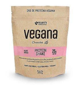Proteína Vegana Hart's Natural - Protein Shake Chocolat 360g