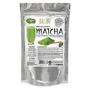 Chá Matcha Em Pó Orgânico Unilife - Sachê 30g