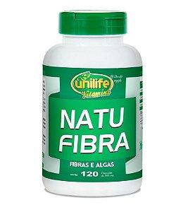 NatuFibras Emagrecedor Natural - Algas e Fibras Unilife 120 Cápsulas