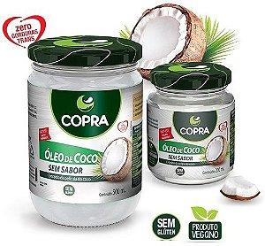 Óleo de Coco Natural Copra Sem Sabor