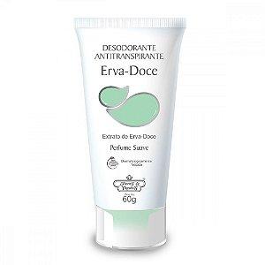 Desodorante Vegano Flores e Vegetais Erva-Doce 60g