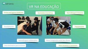 VEdu VR na Educação Edmersiv