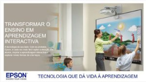 VEdu Epson Projetor Educacional BrightLink 675Wi+