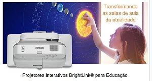 VEdu Epson Projetor Educacional BrightLink 695Wi+