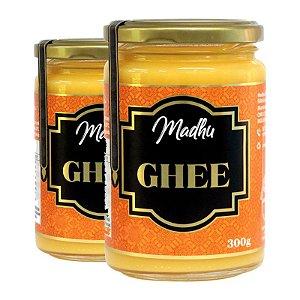 Kit 2 Manteiga Ghee Madhu 300g