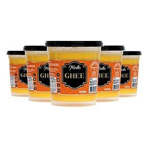 Kit 5 Manteiga Ghee Madhu 400g