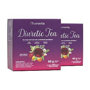Kit 2 Diuretic Tea Sanavita 30 sachês