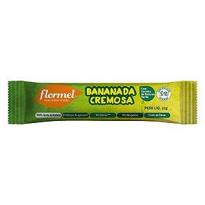 Bananada Cremosa Flormel Zero Açúcar 22g