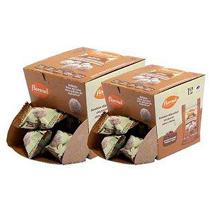 Kit 2 Bolinhas Doce de Leite C/Coco Flormel Zero Açúcar 10g 18Und