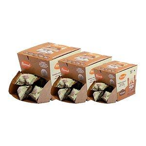 Kit 3 Bolinhas Doce de Leite C/Coco Flormel Zero Açúcar 10g 18Und