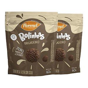 Kit 2 Bolinhas Flormel Zero Lactose 60g