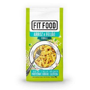 Macarrão Fusilli Fit Food Arroz Com Feijão 200 gramas