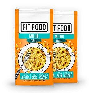 Kit 2 Macarrão Fusilli Fit Food Milho 200 gramas