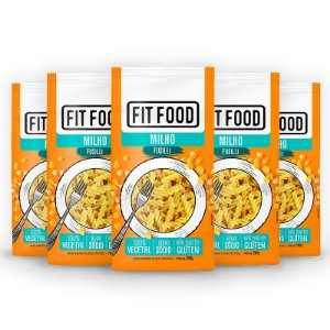Kit 5 Macarrão Fusilli Fit Food Milho 200 gramas