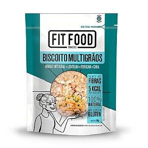 Biscoito de Arroz Fit Food Lentilha + Ervilha + Chia 90 gramas