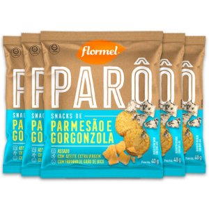 Kit 5 Biscoito de Polvilho Parô Flormel 40G