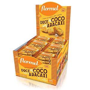 Kit 24 Doce de Abacaxi com Coco Zero Açúcar Flormel