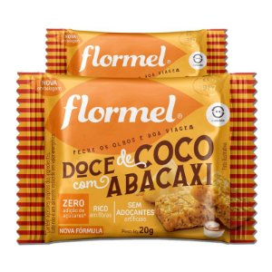 Kit 2 Doce de Abacaxi com Coco Zero Açúcar Flormel