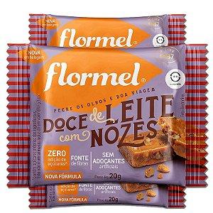 Kit 3 Doce de Leite com Nozes Zero Açúcar Flormel