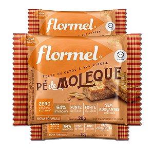 Kit 3 Pé de Moleque Zero Açúcar Flormel 20g