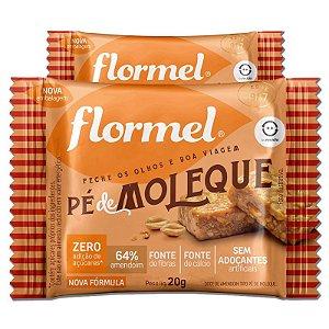 Kit 2 Pé de Moleque Zero Açúcar Flormel 20g