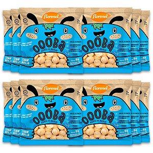 Kit 12 Biscoito de Polvilho Infantil Queijo Oooba Flormel 25g