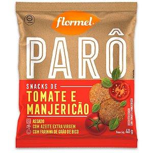 Biscoito de Polvilho Tomate e Manjericão Parô Flormel 40G