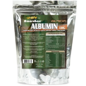 Albumina Egg Protein Chocolate 500g Unilife
