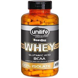 Whey Protein Isolado 250 capsulas Unilife