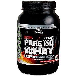 Whey Protein 30g Pure Isolado 900g Morango Unilife