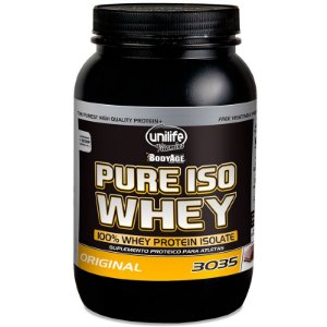 Whey Protein 30g Pure Isolado 900g Chocolate Unilife