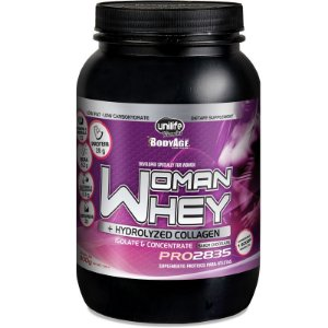 Whey Protein Woman c/ Colageno 900g Chocolate Unilife