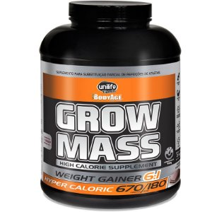 Hipercalórico Grow Mass 3Kg Chocolate Unilife
