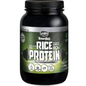 Rice Protein 1kg Proteína vegetal Unilife natural