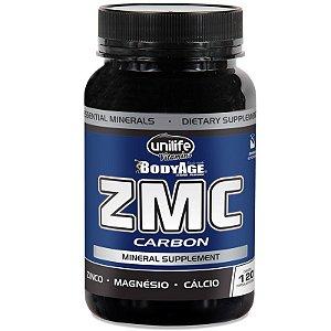 ZMC Carbon Cálcio, Zinco e Magnésio 120Caps Unilife