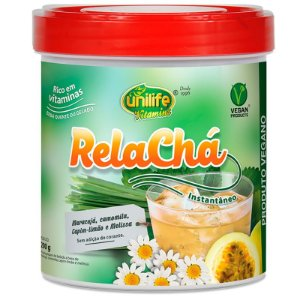 Relacha Chá mistura solúvel 220g Unilife