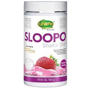 Shake Diet com colageno 400g Sabor Morango Unilife
