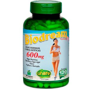Emagrecedor natural  Biodream 120 cápsulas Unilife