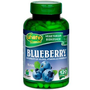 Blueberry 60 cápsulas Unilife