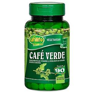 Café Verde 400mg Unilife 90 cápsulas